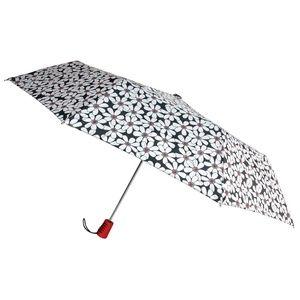 Totes Umbrella 42″ White Flower Auto Open Flowers